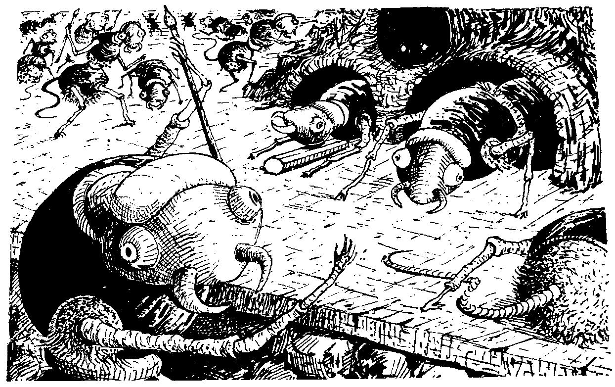 Variant vicious ant