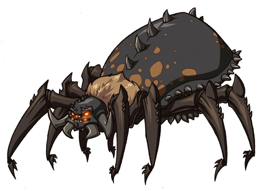 Sayan versus Wild ! Spider_giant1