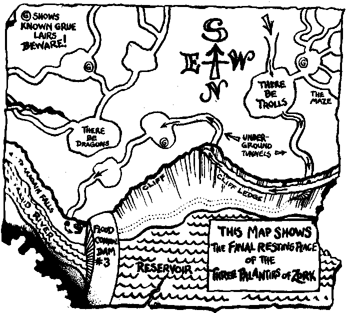 Zork Maps Zork Map on