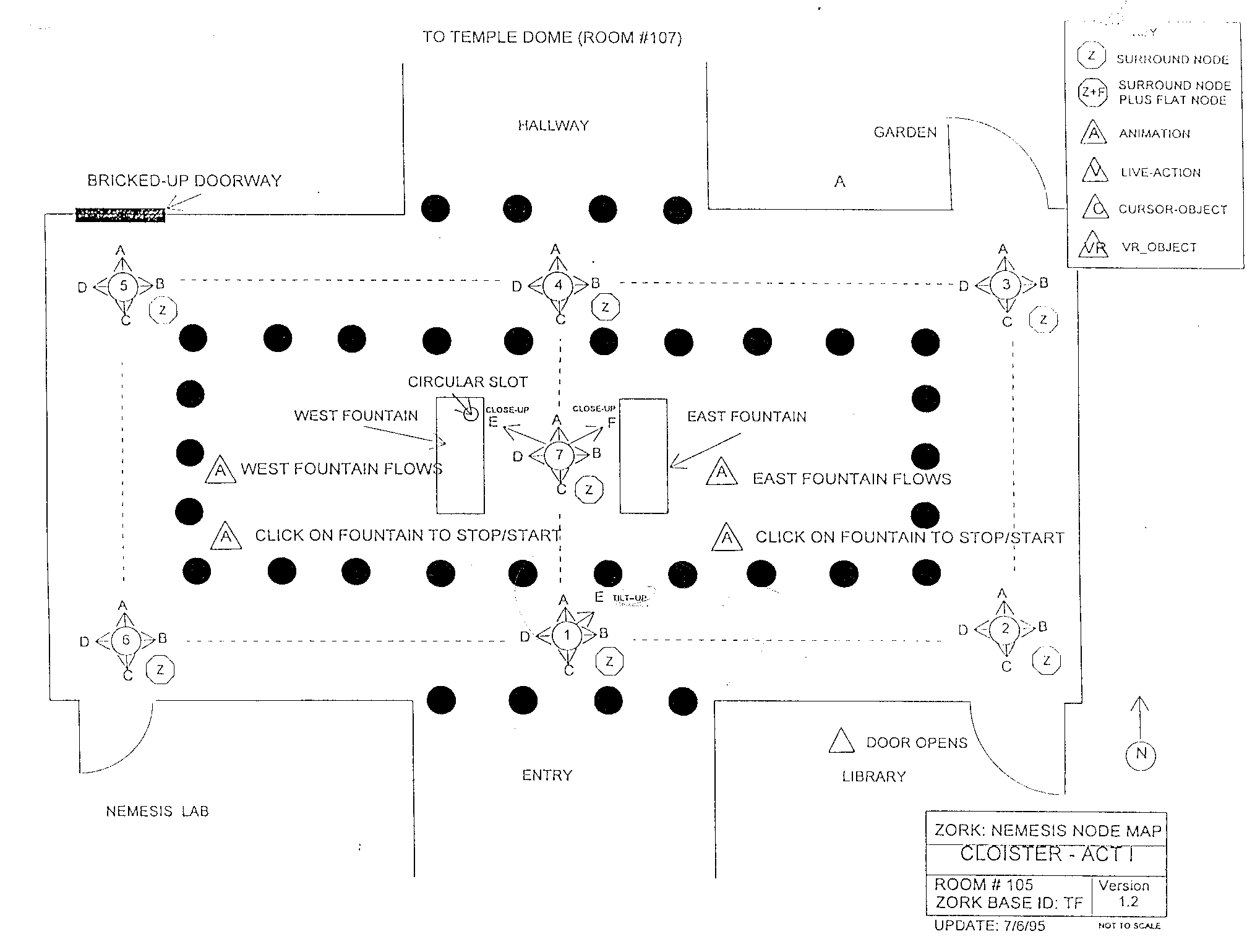 Zork Nemesis Node Maps